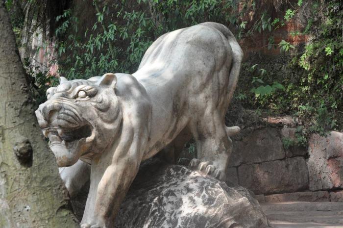 Tigr -simbol sily